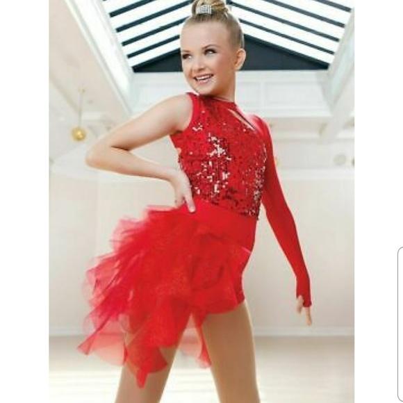 Weissman dance jazz tap costume child large